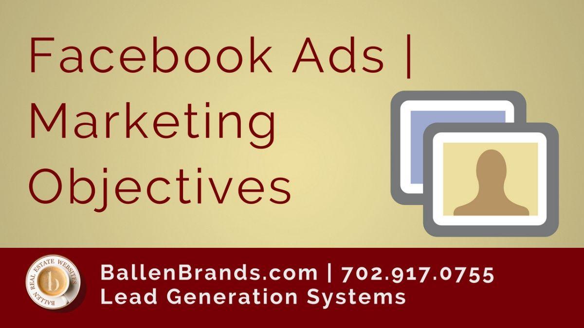 Facebook Ads | Marketing Objectives