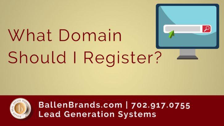 What Domain should I Register?