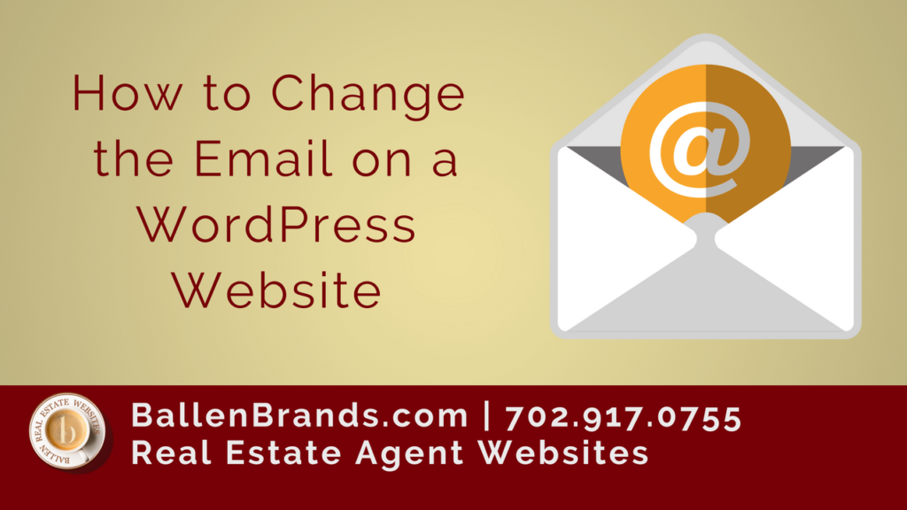 How to Change the Email on a WordPress Website