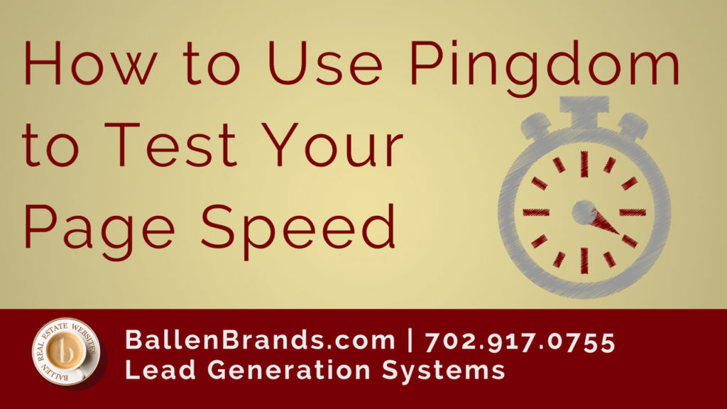 How to Use Pingdom to Test Your Website Speed