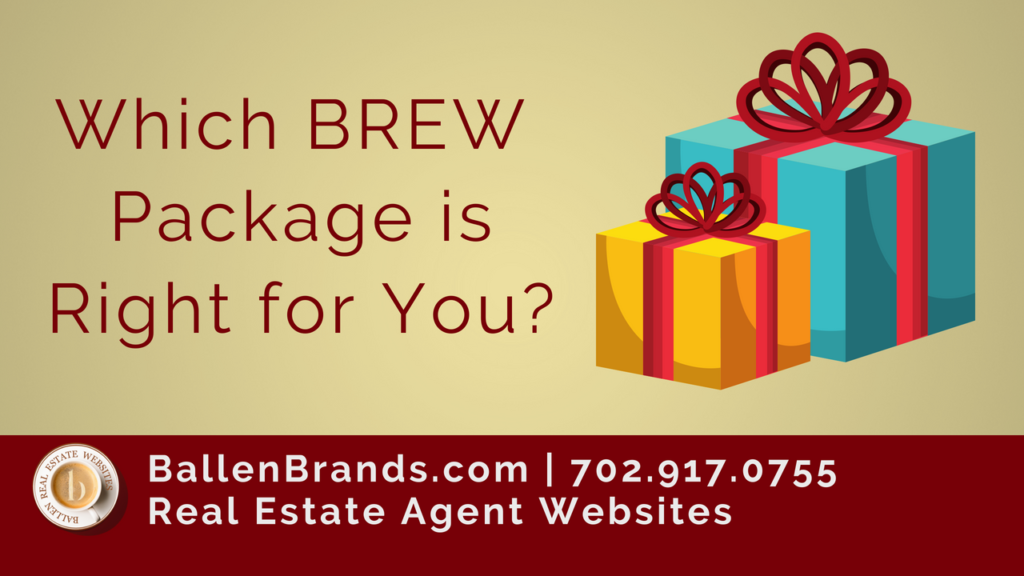 Which BREW (Ballen Real Estate Website) Package is Right for You?