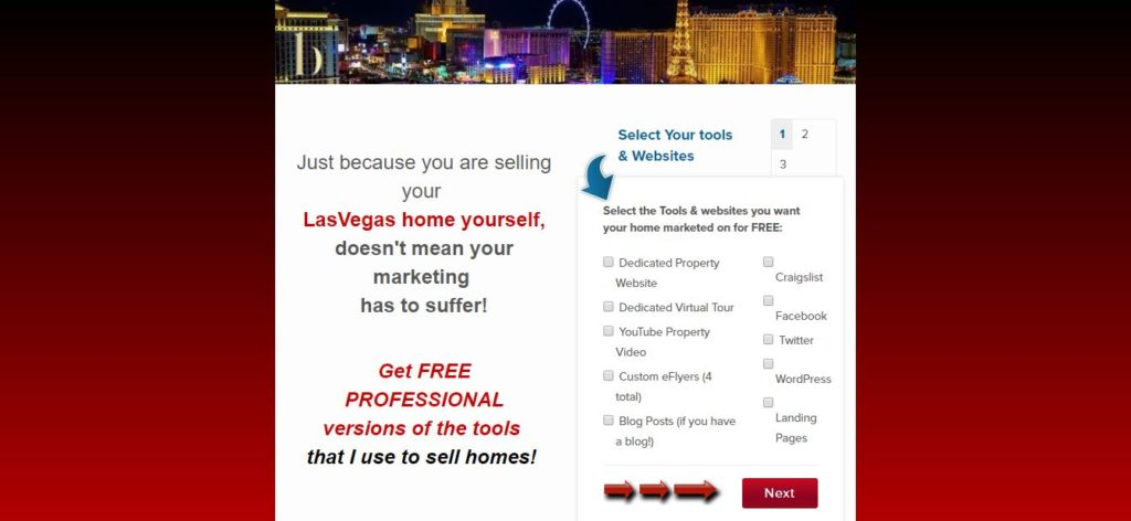 Real Estate Landing Page: Hot List of Homes For Sale