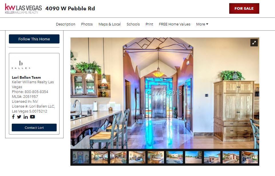 Real Estate Landing Page: Featured Property