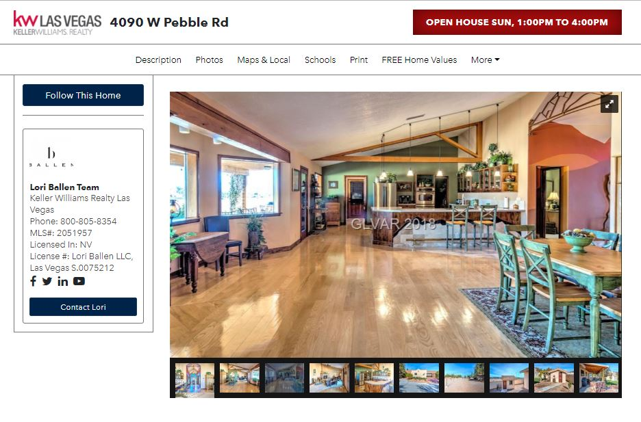 Real Estate Landing Page: Open House