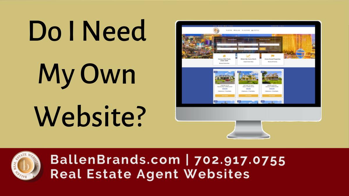 Do I Need My Own Website?