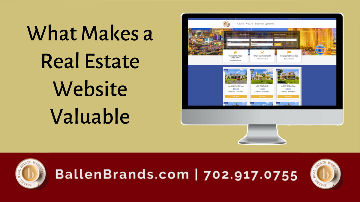 What Makes a Real Estate Website Valuable