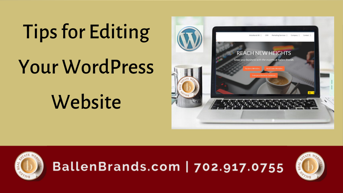 Tips for Editing Your WordPress Website