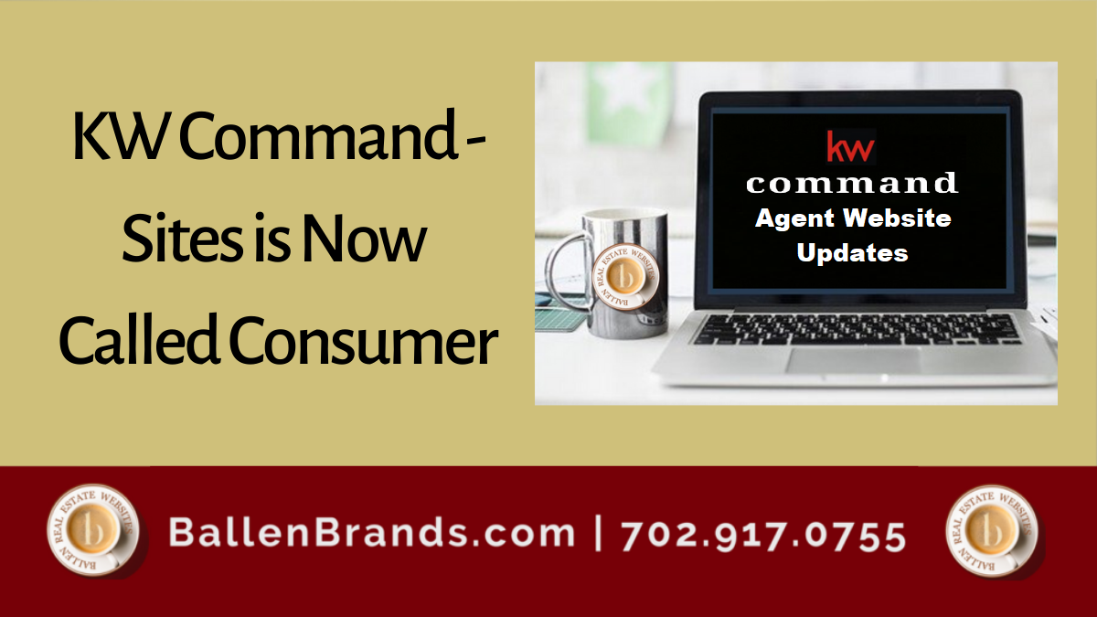 KW Command - Sites is Now Called Consumer