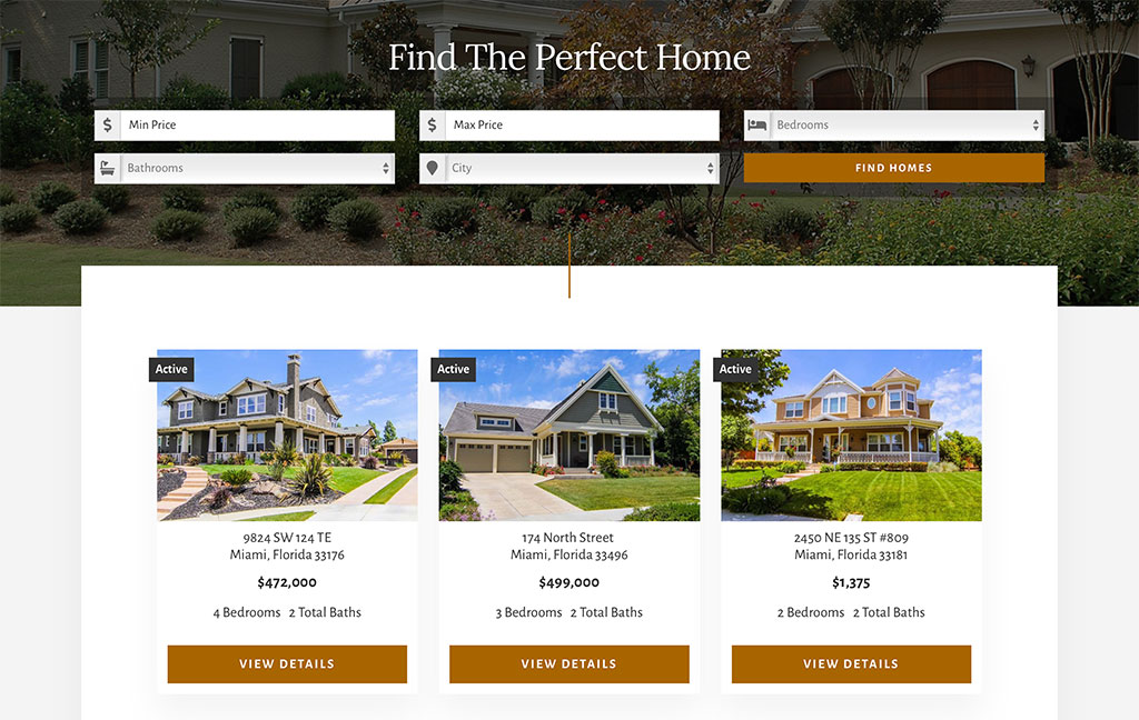 Property Search & Listings