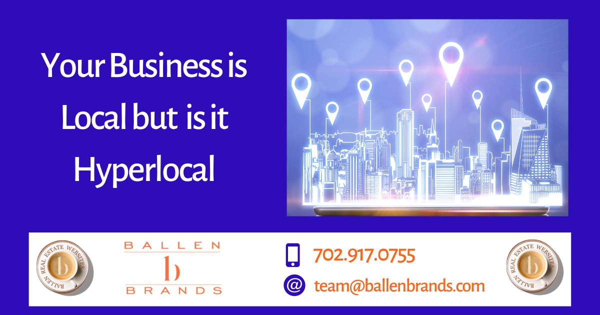 Your Business is Local but is it Hyperlocal?