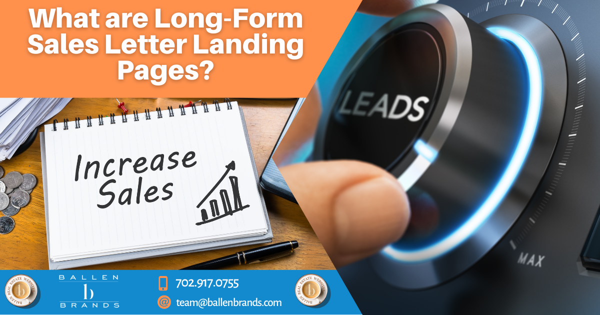 What Are Long-Form Sales Letter Landing Pages