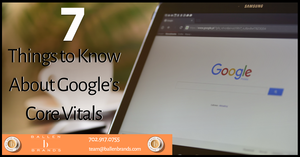 7 Things to Know about Google's Core Vitals