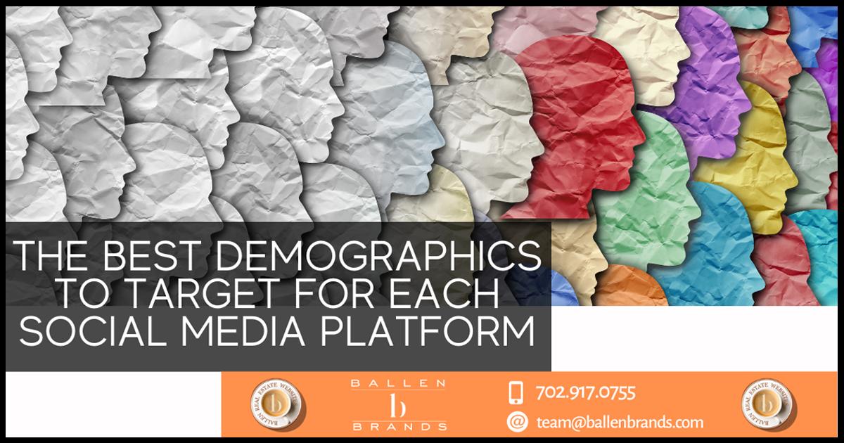 9 Demographics to Target Different Social Media Platforms