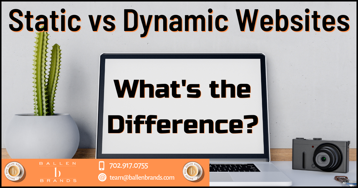 Static vs. Dynamic Websites: What's the Difference? [2021]