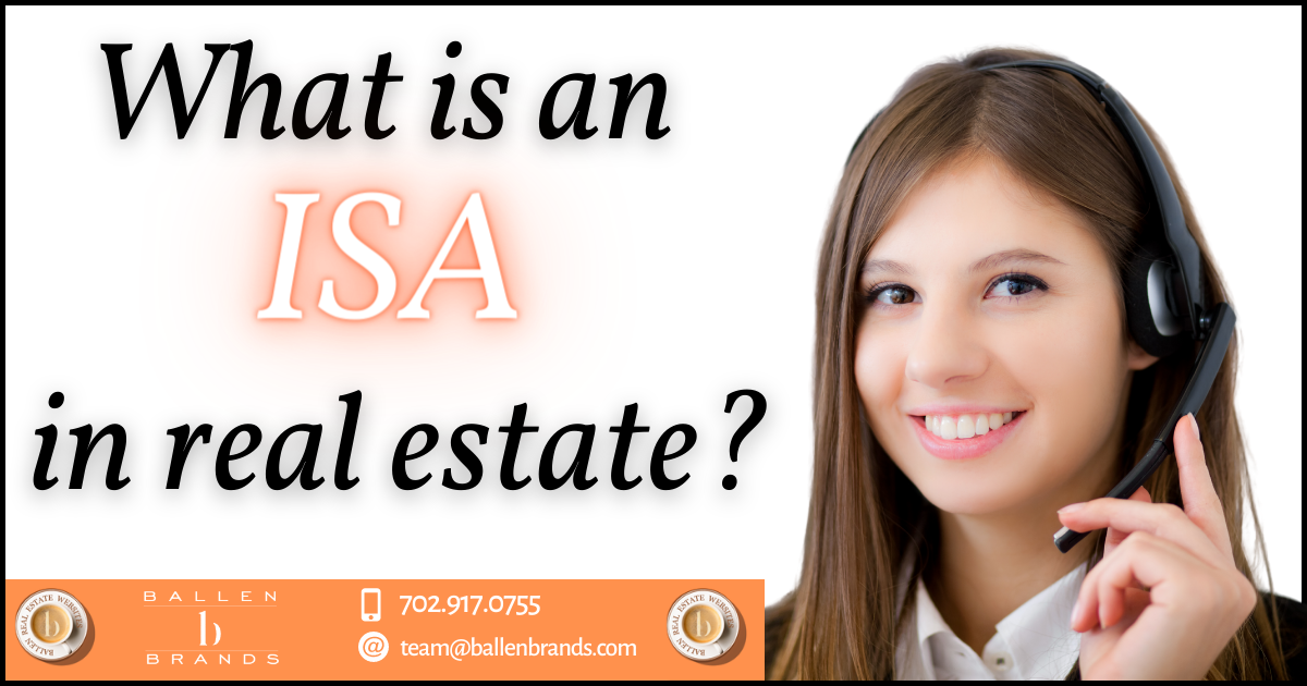 What is an ISA in Real Estate? [2021]